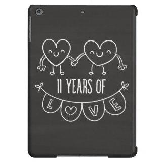11mo Corazones de la tiza del regalo del Funda Para iPad Air