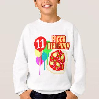 11mo Cumpleaños de la pizza del cumpleaños Camisas