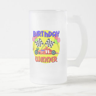 11mo Cumpleaños del coche de carreras del Taza De Cristal