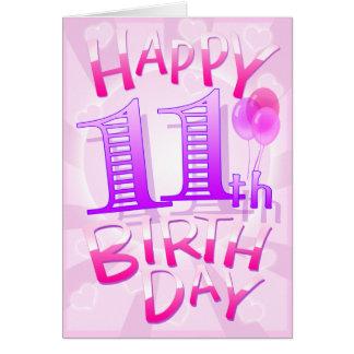 11mo cumpleaños feliz felicitacion