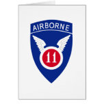 11mo División aerotransportada Tarjetas