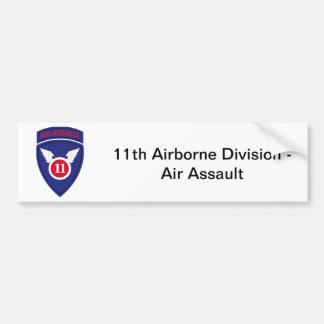11mo División de ataque aéreo Pegatina Para Auto