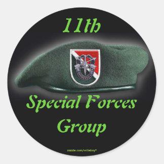 11mo Fuerzas especiales scrapbooking el pegatina