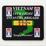 11mo Inf ligeros Vietnam Mousepad 2/b Alfombrillas De Ratones