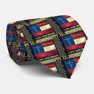 11mo Infantería de Mississippi (BA2) Corbata Personalizada