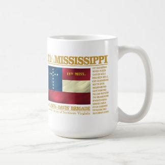 11mo Infantería de Mississippi (BA2) Taza