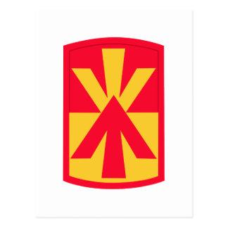 11mo Insignias de la brigada de la artillería de l Tarjetas Postales