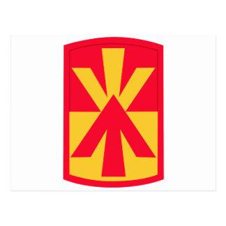 11mo Insignias de la brigada de la artillería de Postal