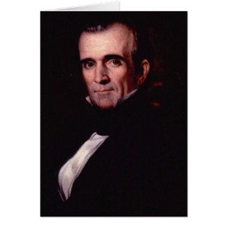 11mo los E.E.U.U. presidente de James K. Polk Tarjeta De Felicitación