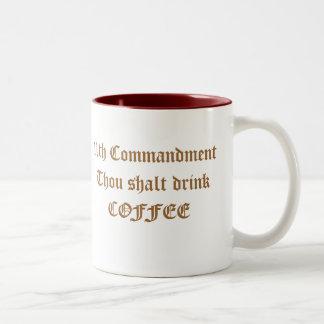 11mo Mandamiento Taza De Café