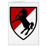 11mo Regimiento de caballería acorazada Tarjeton