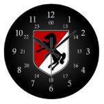 11mo Remiendo del ACR 24 horas Reloj De Pared