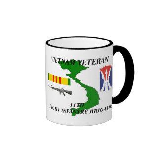 11mo Tazas de café del veterano de la brigada de