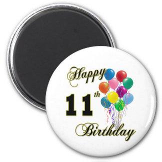 11mos regalos de cumpleaños y ropa felices del cum imanes