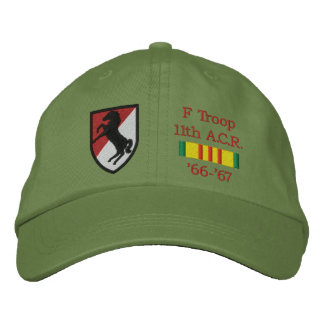 11th A.C.R. Blackhorse Patch & VSR Hat