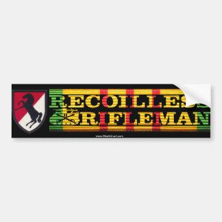 11th ACR 106mm Recoilless Rifleman Sticker Car Bumper Sticker
