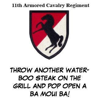 11th ACR Blackhorse BBQ Apron apron