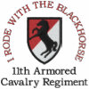 11th ACR I Rode With the Blackhorse Patch Shirt