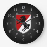 11th ACR Patch 24 Hour Wall Clock