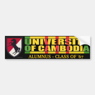 11th ACR - U of Cambodia Alumnus Sticker