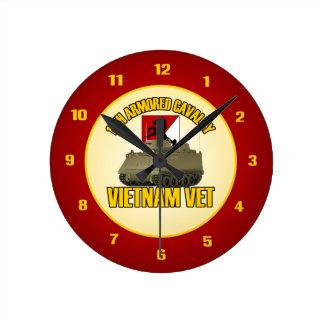 11th ACR Vietnam ACAV Round Clock