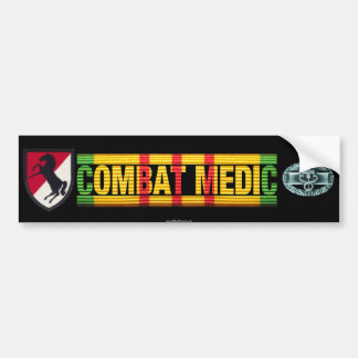 11th ACR Vietnam COMBAT MEDIC Sticker Bumper Stickers