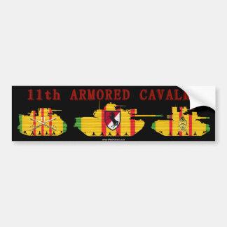 11th ACR VSR Armored Vehicles Bumper Sticker