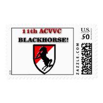 11th acvvc Blackhorse stamp