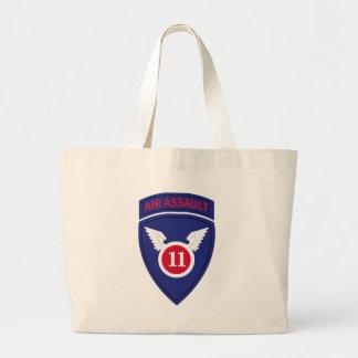 11th Air Assault Division Large Tote Bag
