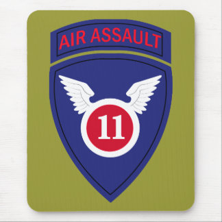 11th Air Assault Division Mouse Pad
