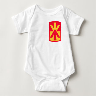 11th Air Defense Artillery Brigade Insignia Baby Bodysuit