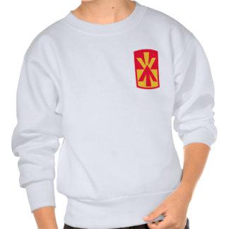 11th Air Defense Artillery Brigade Insignia Pullover Sweatshirts