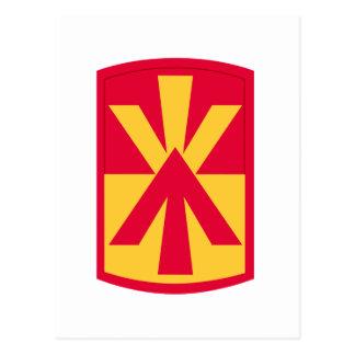 11th air defense artillery brigade postcard