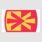 11th Air Defense Artillery Brigade Rectangular Sticker