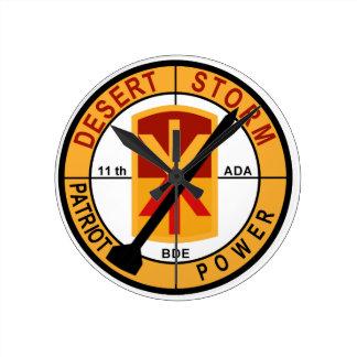 11th Air Defense Artillery Desert Storm Wallclocks