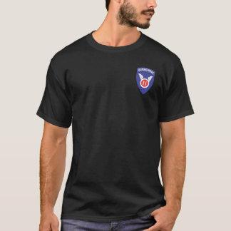 11th Airborne + 187th Torii T-shirts