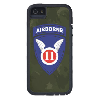 "11th Airborne Division ""Angels Division"" Camo iPhone SE/5/5s Case"