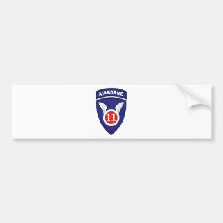 11th Airborne division Bumper Sticker