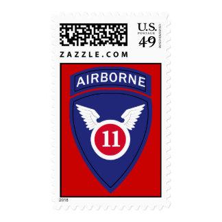 11th Airborne Division Insignia Postage