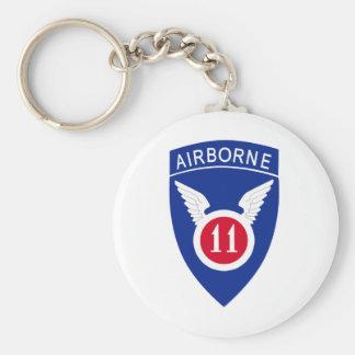 11th Airborne Division Keychain