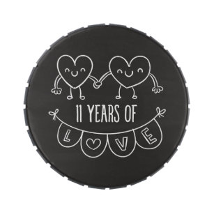 happy 11th anniversary gifts on zazzle