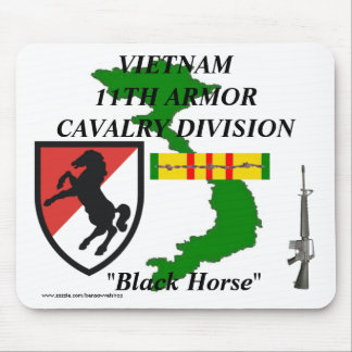 11th Armor Cav Vietnam Mousepad 1/w
