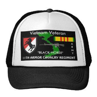 11th Armor Cavalry Regiment Vietnam Ball Caps Trucker Hat