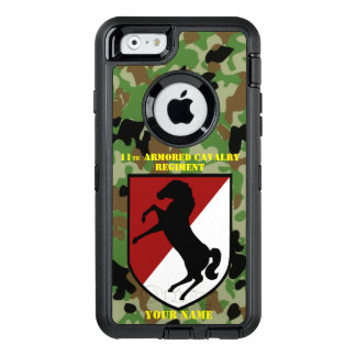 11th ARMORED CALVARY REGIMENT OtterBox  6/6s Case