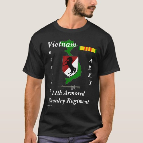 11th Armored Cav Reg T_Shirt