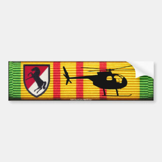 11th Armored Cavalry OH-6 Loach VSM Bumper Sticker