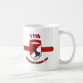 "11TH ARMORED CAVALRY REGIMENT ""BLACK HORSE CAV"" COFFEE MUG"