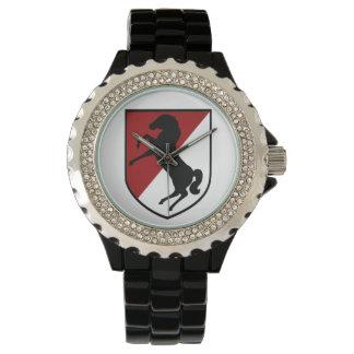 11th Armored Cavalry Regiment -Blackhorse Regiment Wrist Watch