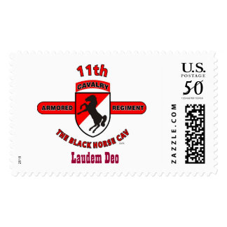 "11TH ARMORED CAVALRY REGIMENT ""THE FIRST CAV"" POSTAGE"