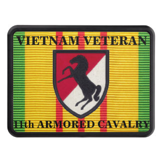 11th Armored Cavalry Regt VSM Ribbon Hitch Cover